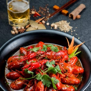 Chinese spicy crawfish